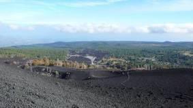 Etna Nord: eruzione del 2002, panorama